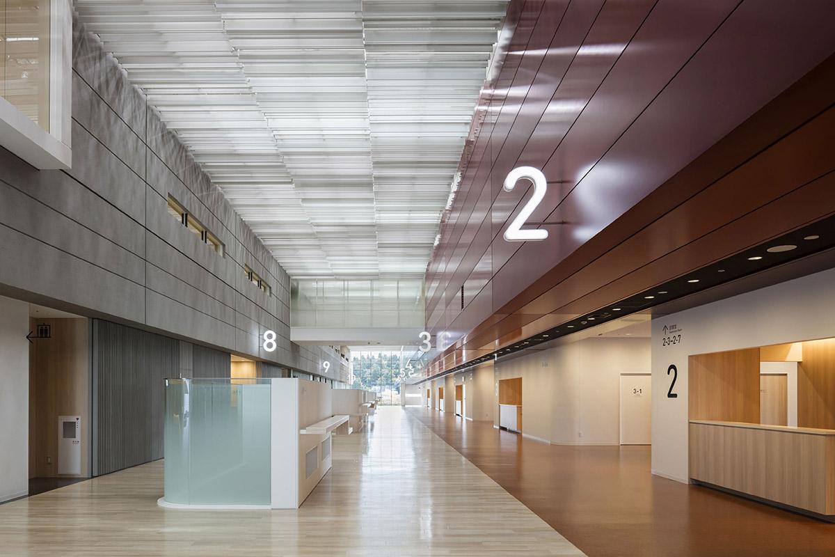 高明爱 新福冈市立儿童医院 所在地:福冈市 导视设计:计盛政利,森山